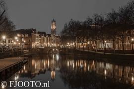 Utrecht Domtoren 5 (Canvas 4cm)