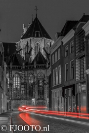 Dordrecht Grotekerksbuurt (Canvas 4cm)