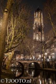 Utrecht Domtoren 19 (Canvas 4cm)