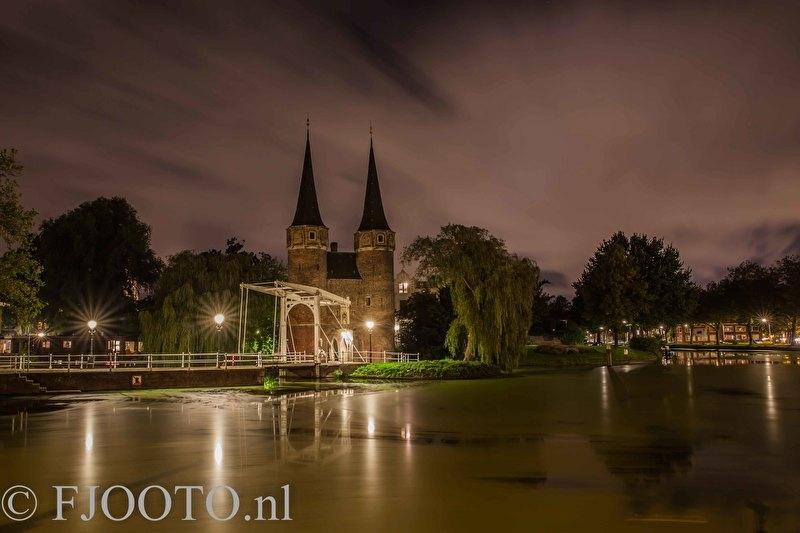 Delft Oostpoort 6 (Canvas 2cm)