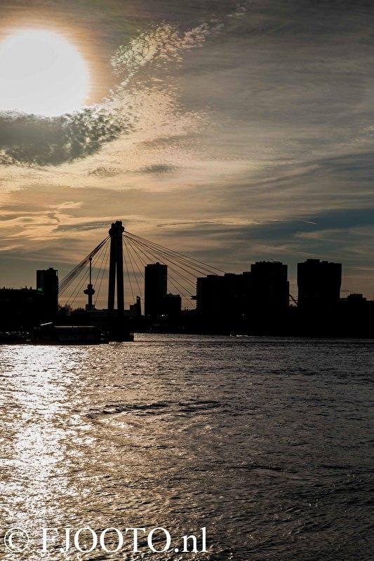 Rotterdam skyline 2 (Canvas 2cm frame)
