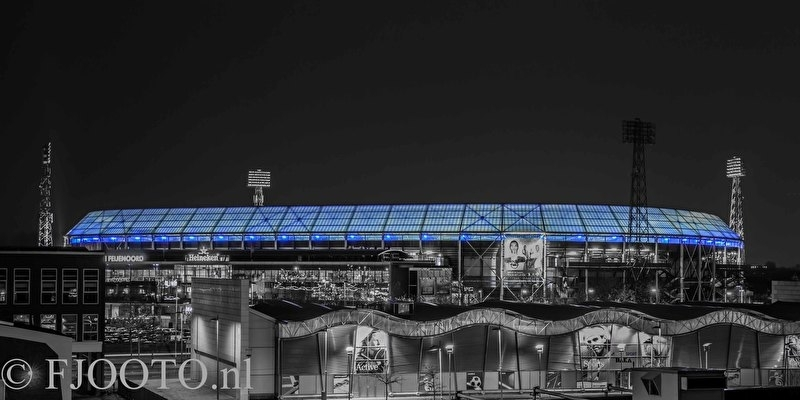 Feyenoord stadion 28 (Canvas 4cm)