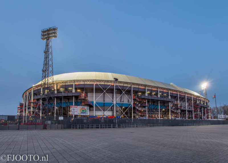 Feyenoord stadion 39 (Canvas 2cm frame)