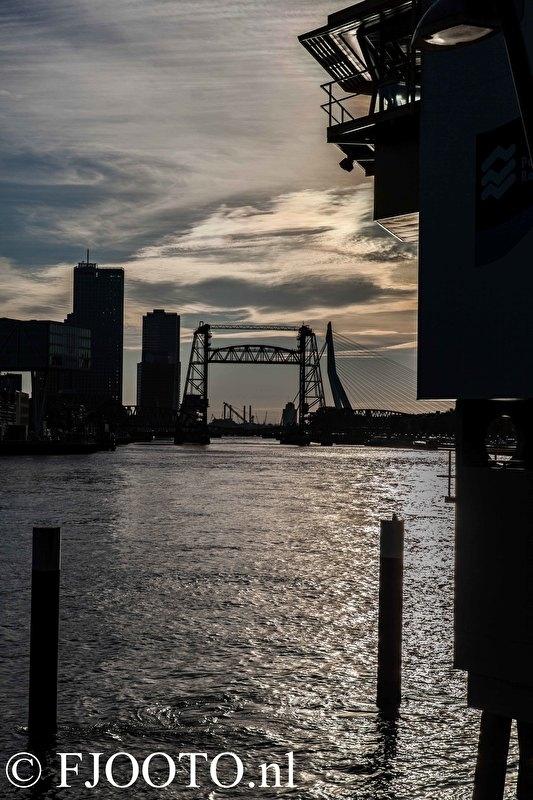 """Rotterdam """"de Hef"""" (Canvas 2 cm frame)"""