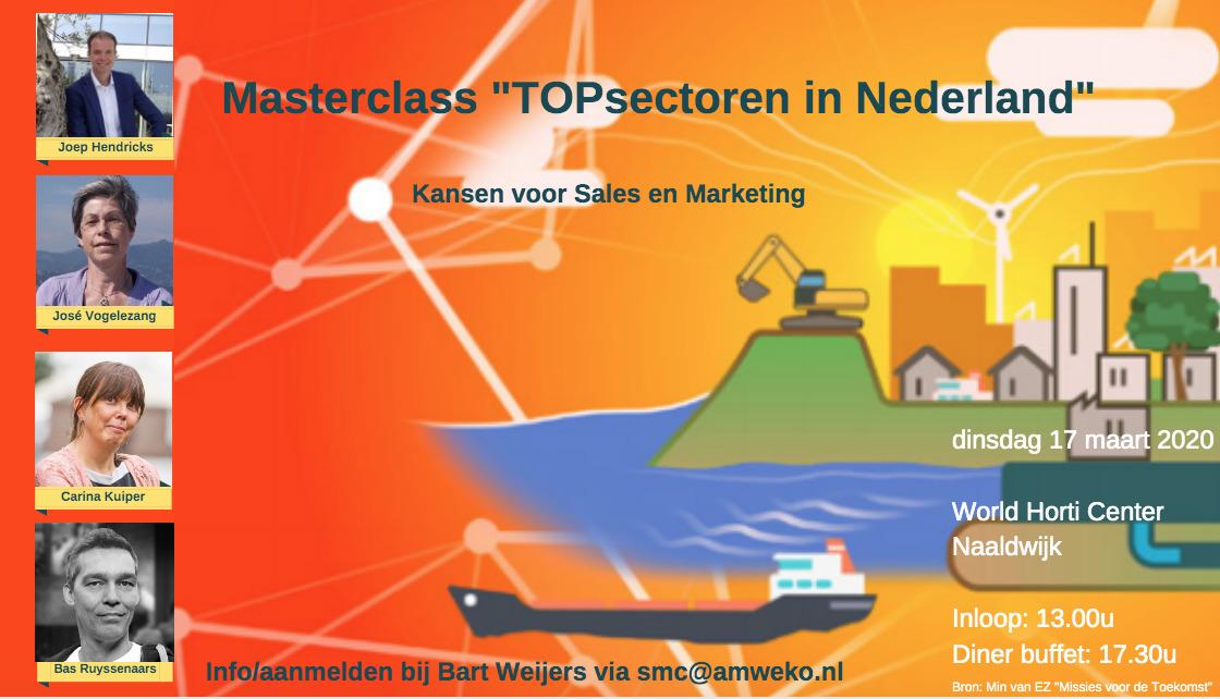 Invite Masterclass TOPsectoren
