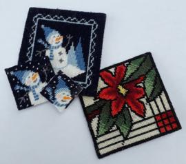 Frosty mini kussentjes