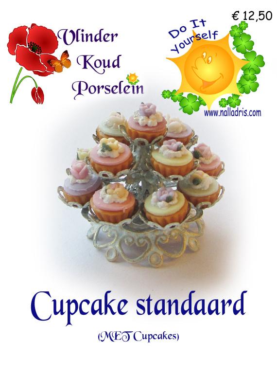 Cupcake standaard met cupcakes