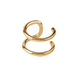 Oorbellen EAR CUFF basic 1 - goud