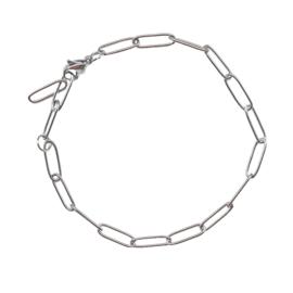 Stel zelf samen | Armband schakel - ZILVER