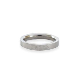 Ring ZILVER - met eigen tekst gravering