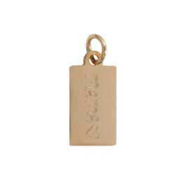 Hanger rechthoek handwriting - met eigen tekst