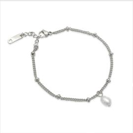 Armband bolletjes PAREL  |  Zilver