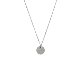 Ketting - met eigen tekst | 925 sterling zilver
