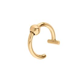Oorbellen EAR CUFF basic 2 - goud
