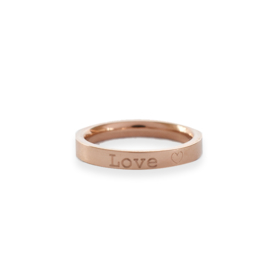 Ring ROSE - met eigen tekst gravering