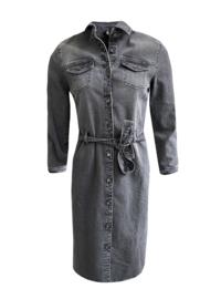 Elvira Dress Indy - Washed Grey
