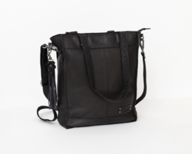 Bag2Bag - Dames shopper/schoudertas Canora black