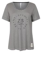 Zoso striped T-shirt  - 213 Fabienne Navy