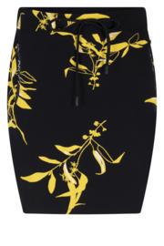 Zoso Allover printed sweat skirt / rokje- 213 Steffie Navy / Yellow