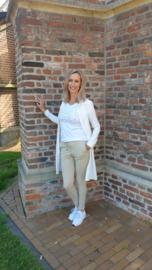 Triple Nine - Lange blouse off white