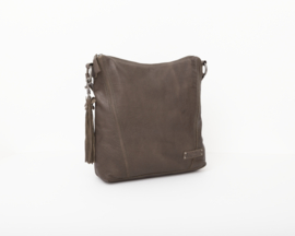 Bag2Bag - Dames schoudertas Nelson groen - Olive
