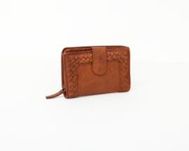 Bag2Bag -  Dames wallet / portemonnee Elvas - cognac