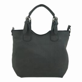 Eternel / Mandoline - Schoudertas / handtas bag in bag Lotte zwart