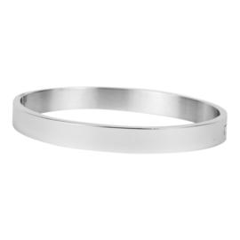 Kalli Kalli armband 2034 Flat - 6 mm - zilver 58 mm.