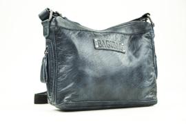 Bag2Bag dames schoudertas Hudson - blauw