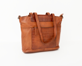Bag2Bag -  Dames shopper/schoudertas Mora - cognac