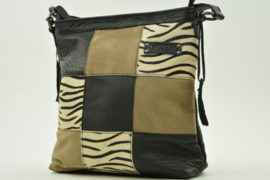 Bag2Bag - Shopper Lagos - zebra - black