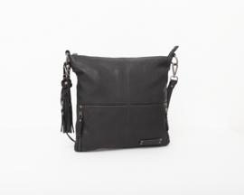 Bag2Bag - Dames schoudertas Madura zwart - Black