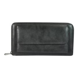 Dames portemonnee Just Dreamz met voorvak - zwart