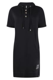 Zoso Sporty hooded dress - 213 Eve Navy / white