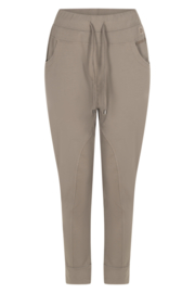 Zoso garment dye trouser - broek - 211 Jennifer  washed driftwood