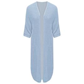 Vest  gehaakt - lichtblauw