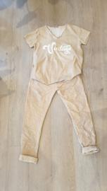 Triple Nine - Combinatie broek / shirt Sahara zand