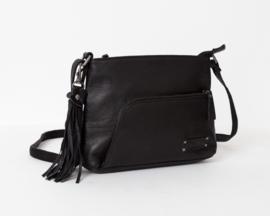 Bag2Bag - Dames schoudertas Faro - zwart