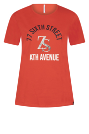 Zoso T-shirt with print - 213 Sixth Summer red