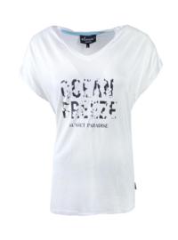 Elvira t-shirt Breeze - off white