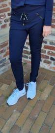 My Pashion travel pant Tiz broek - Blue blauw