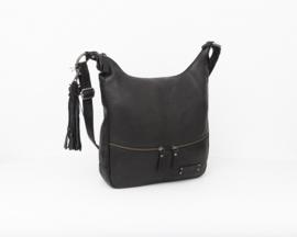 Bag2Bag - Dames schoudertas Yulara zwart - Black