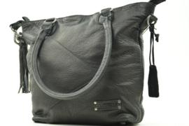 Bag2Bag - Dames schoudertas Texas - zwart