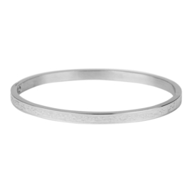 Kalli Kalli armband 2137- 4 mm - zilver 58 mm