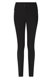 Zoso Travel pant techzipper - broek - 211 Steff black