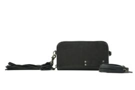 Bag2Bag dames schoudertas / clutch / wallet New Jackson - zwart