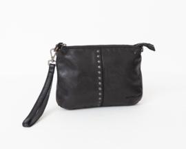 Bag2Bag Limited Edition - Dames schoudertas/clutch Lucia black