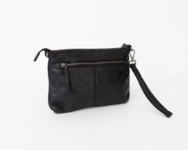 Bag2Bag Limited Edition - Dames schoudertas/clutch Levisa black