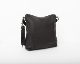 Bag2Bag - Dames schoudertas Nelson - zwart