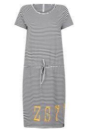 Zoso Striped dress - 214 Chelsey Stripe summer gold 2500-0250